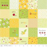 Riley Blake Fabric - Sweet Orchard Sedef Imer of Down Grapevine Lane - Green #DC5480