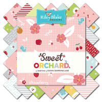 Riley Blake Fabric - Sweet Orchard - Sedef Imer of Down Grapevine Lane- Fat Quarter Bundle - Manufactured Bundle