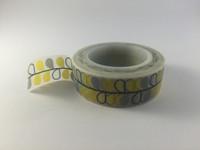 Washi Tape - Grey and Yellow Vine #726