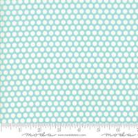 Moda Fabric - Basics - Bonnie & Camille - Aqua #55023 32
