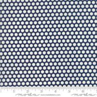 Moda Fabric - Basics - Bonnie & Camille - Navy #55023 37