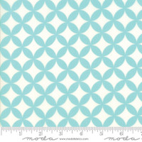 Moda Fabric - Basics - Bonnie & Camille - Aqua #55111 42