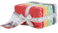 Moda Fabric Precuts Fat Eighth Bundle - Basics by Bonnie & Camille