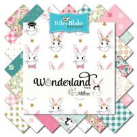 Riley Blake Fabric - Wonderland 2 - Melissa Mortensen - 10 inch Stacker