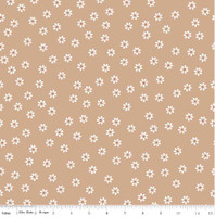 Riley Blake Fabric - Sew Cherry 2 - Lori Holt - Nutmeg #C5803