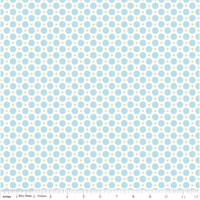 Riley Blake Fabric - Sew Cherry 2 - Lori Holt - Aqua #C5805