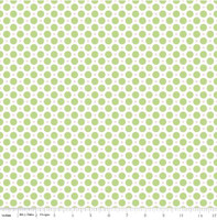 Riley Blake Fabric - Sew Cherry 2 - Lori Holt - Green #C5805