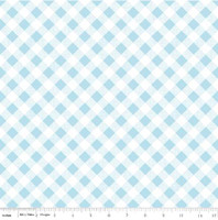 Riley Blake Fabric - Sew Cherry 2 - Lori Holt - Blue #C5808