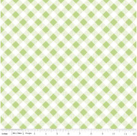 Riley Blake Fabric - Sew Cherry 2 - Lori Holt - Green #C5808