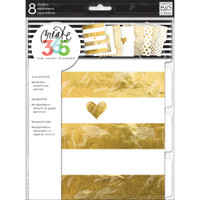 Create 365 - Me and My Big Ideas - Gold Foil Dividers