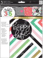 Create 365 - Me and My Big Ideas - Decorative Covers - Happy Life
