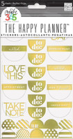 Create 365 - Me and My Big Ideas - To Do Stickers - Gold Foil The Happy Planner