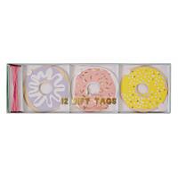 Meri Meri - Doughnut Gift Tags - Set of 12