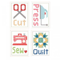 Cut. Press Sew Quilt Magnet Set Lori Holt of Bee in my Bonnet