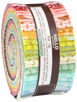 Robert Kaufman Fabric Precuts - Jelly Roll - Pond by Elizabeth Hartman