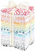Robert Kaufman Fabric Precuts - Fat Quarter Bundle  - Blueberry Park Karen Lewis Collection - Low Spectrum