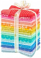 Robert Kaufman Fabric Precuts - Fat Quarter Bundle  - Blueberry Park Karen Lewis Collection - Light Spectrum