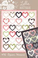 Lella Boutique Quilt Pattern - Open Heart
