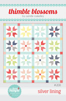 Thimble Blossom Quilt Pattern - Silver Lining