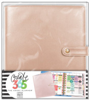 Create 365 - Me and My Big Ideas - The Happy Planner™ Deluxe Cover - Rose Gold - CLASSIC