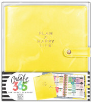 Create 365 - Me and My Big Ideas - The Happy Planner™ Deluxe Cover - Sunshine Yellow - CLASSIC