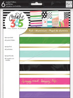 Create 365 - Me and My Big Ideas - The Happy Planner™ Pocket Folders - Stay Happy - CLASSIC
