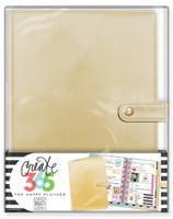 Create 365 - Me and My Big Ideas - The Happy Planner™ Deluxe Cover - Gold - MINI