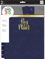 Create 365 - Me and My Big Ideas - The Happy Planner™ Snap-In Cover - Big Plans / Navy - BIG