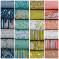 Ella Blue Fabric - Eureka by Emma Jean Jansen - Fat Quarter Bundle