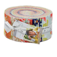 Moda Fabric Precuts Jelly Roll - Coney Island by Fig Tree Co