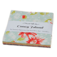 Moda Fabric Precuts Charm Pack - Coney Island by Fig Tree Co