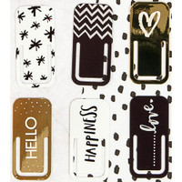 My Prima Planner Embellishments - Metal Clips - Set of 6
