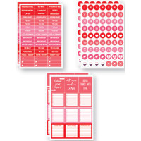 "Plan It Now Stickers - 4"" x 6"" - February - Planner Stickers"