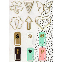 My Prima Planner Variety Clips - Set of 12