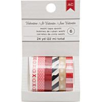 Washi Tape Pack - American Crafts Valentine Mini Washi Tape 24 Yards
