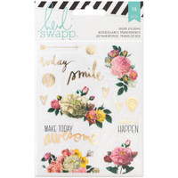 Heidi Swapp - Memory Planner Clear Stickers - Floral