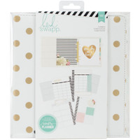 Heidi Swapp Large Memory Planner - Gold Foil Dots