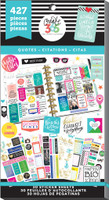 Create 365 - Me and My Big Ideas - The Happy Planner™ Value Pack Stickers - Quotes