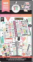 Create 365 - Me and My Big Ideas - The Happy Planner™ Value Pack Stickers - Productivity