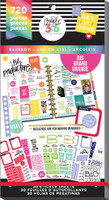Create 365 - Me and My Big Ideas - The Happy Planner™ Value Pack Stickers - Rainbow - BIG