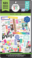 Create 365 - Me and My Big Ideas - The Happy Planner™ Value Pack Stickers - Value Pack Stickers - Faith