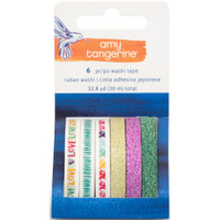 Amy Tangerine - Better Together Washi Tape Rolls - Set of 6