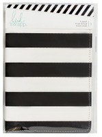 Heidi Swapp - Memory Planner 2017 Personal Black and White Stripe