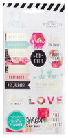 Heidi Swapp - Memory Planner 2017 Stickers Floral