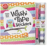 Klutz - Washi Tape Stickers Book Kit