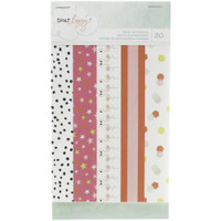 American Crafts - Dear Lizzy Fine & Dandy Washi Tape - 6-Page Booklet