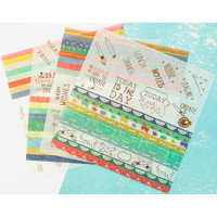 Prima Marketing - Julie Nutting Planner Washi Stickers - 4 Pack