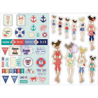 Prima Marketing - Julie Nutting Planner Monthly Stickers - 2 Pack - August