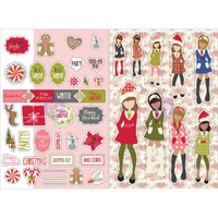 Prima Marketing - Julie Nutting Planner Monthly Stickers - 2 Pack - December