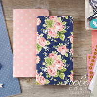 Color Crush - Travellers Notebook - Notepad Set IV - Floral and Star